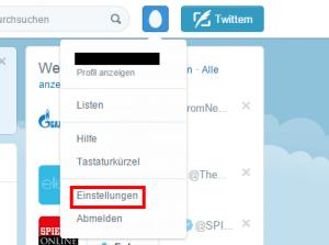 Gesperrten Twitter Account Löschen