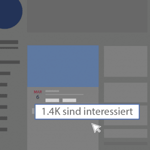 Facebook Event Interessiert